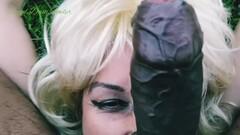 Kinky Glory Hole Blonde Blowjobs n Sex Thumb