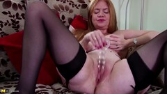 Hung Dude Fingering Her Ass As She Rides Thumb