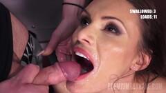 Swallowing 74 Huge Mouthful Cumshots - Kitana Lure Thumb
