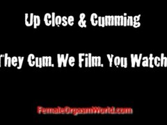 Climax! Women Cumming Up Close Thumb