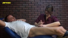 Ticklinghandjobs - Bills Tickle Exam Thumb