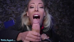 Sexy Blonde Australian Plays With A Stranger For Money - Isabelle Deltore Thumb