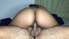 Vipmasks Amateur Creampie - Latin Pussy Dripping Cum After Riding Dick Thumb