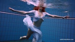 Cute Relaxing underwater show with hot girls Thumb