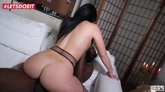 Czech Brunette playing with Pussy In Solarium Thumb