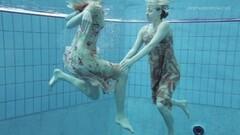 Naughty lesbian show underwater Thumb