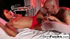 Sexy Nurse Skin gets anally penetrated Thumb