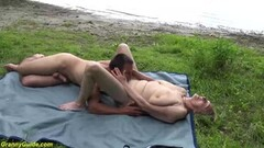 Outdoor cock gagging german tattoo blowjob pov Thumb