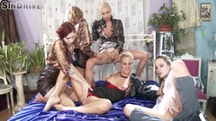 The Golden Shower Power Hour 5 Piss Soaked Lesbians 1440p - Nathaly Cherie, Kattie Gold And Angel Pi Thumb