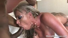 Young Couple Teach To Fuck By German Mature In Threesome Thumb