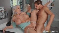 Curvy Hoe Gets Screwed In The Bathroom With Tyler Nixon And Alura Jenson Thumb