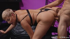 Blonde Mistress Dominates And Fucks Her S - Ryan Keely Thumb