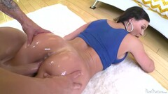 Oiled Whore With Juicy Ass Thumb