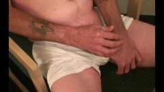 Horny Mature Amateur Jerry Jerking Off Thumb