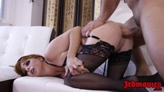 Redhead succubus Penny Pax pounded into squirting orgasm Thumb