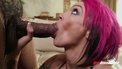 Dirty Whore Takes Black Dick - Shag Hard Core - Belle Black, Anna Bell Peaks And Anna Belle Thumb