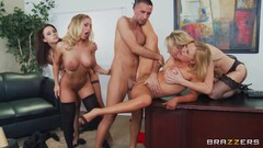 My Lovely Pornstars Show Their Big Juicy Breasts! With Tyler Nixon, Preston Parker And Chanel Presto Thumb