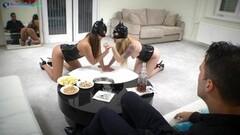 Kinky babes Misha Cross and Amirah Adara wild sex Thumb