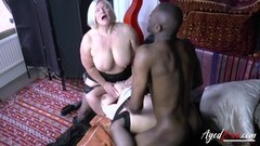 Mature Lacey Starr Interracial Threesome Thumb