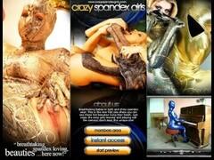 Pornstar flexible in spandex dress Thumb