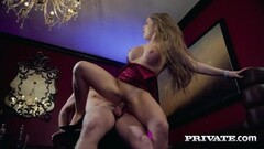 Private.com Alessandra Jane gets cum on her juggs Thumb