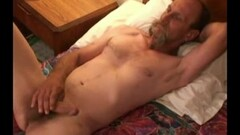 Mature Amateur Rudy Beating Off By Himself Thumb