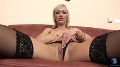 Beautiful models getting off with their favorite toys Thumb