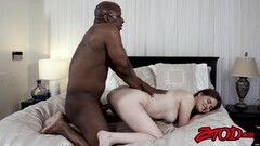 Asian brunette gets her pussy hammered Thumb