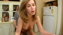 Blonde gets her pussy nailed Thumb